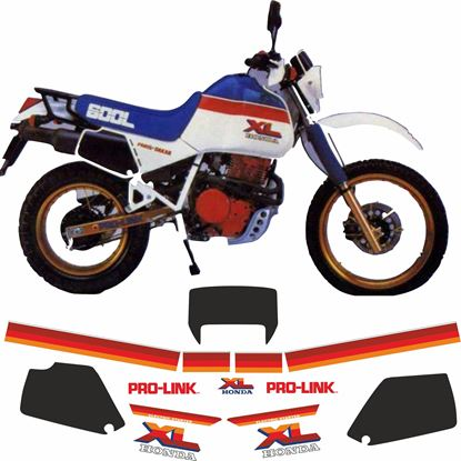 Picture of Honda XL600 LM 1985 - 1989  full Restoration Decals / Stickers
