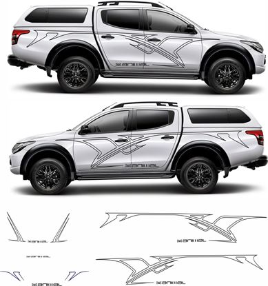 Picture of Mitsubishi L200  Animal Tribal Graphics / Stickers