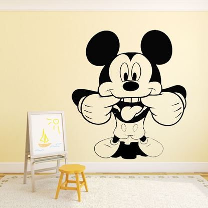 "Picture of ""Mickey Mouse""  Wall Art sticker"