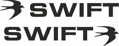 """Picture of """"Swift""""General panel  Decals  / Stickers"""