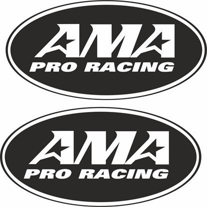 """Picture of """"AMA Pro Racing"""" Decals / Stickers"""