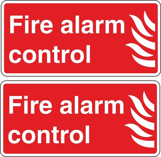Picture of Fire Alarm Control Stickers