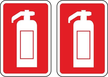 Picture of Fire Extinguisher Stickers