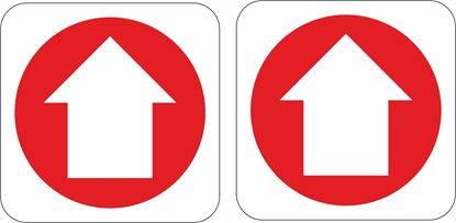 Picture of Fire Arrow  Stickers