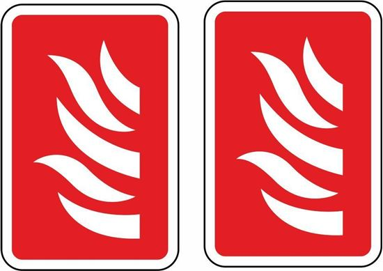 Picture of Fire Arrow Stickers - copy