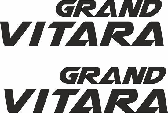 Picture of Suzuki Grand Vitara 2012 on Decals / Stickers