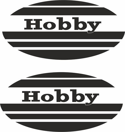 "Picture of ""Hobby""General panel  Decals  / Stickers"