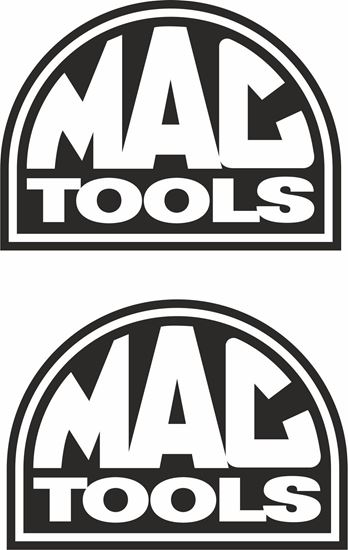 "Picture of ""Mac Tools""  Decals / Stickers"