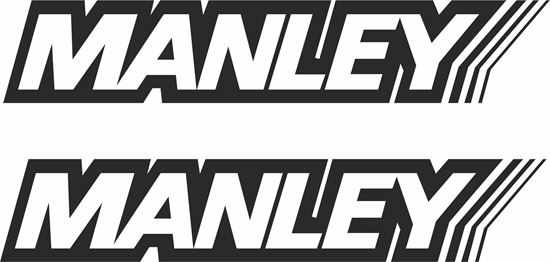"""Picture of """"Manley""""  Decals / Stickers"""