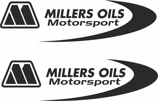 "Picture of ""Milllers Oils...""  Decals / Stickers"
