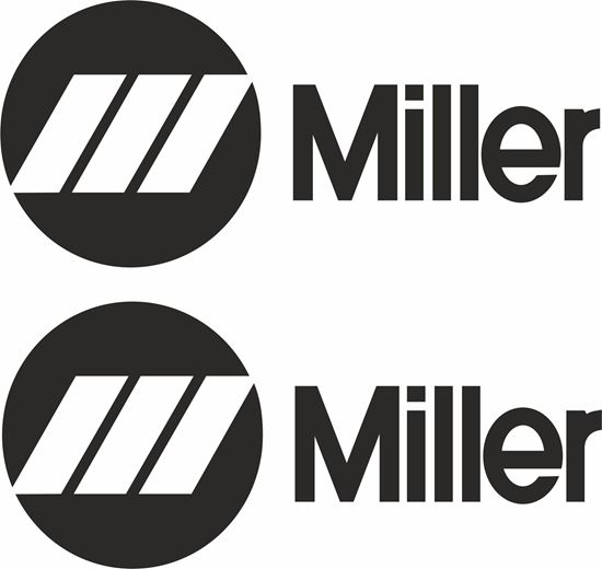 "Picture of ""Milller""  Decals / Stickers"