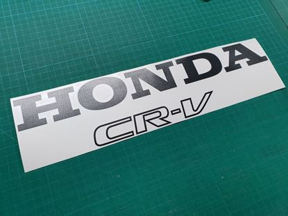 Picture of Honda CR-V 1997 - 2001  replacement wheel cover  Decal / Sticker