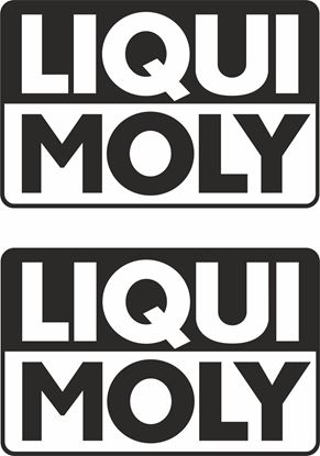 """Picture of """"Liqui Moly""""  Decals / Stickers"""