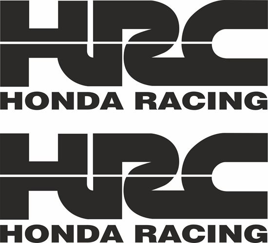 "Picture of ""HRC"" Track and street race sponsor logo"