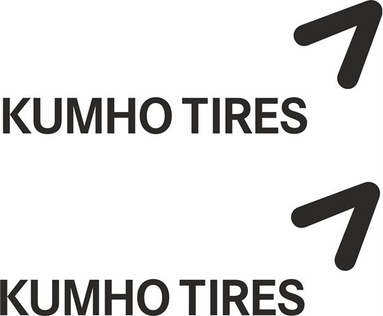 "Picture of ""Kumho Tires""  Decals / Stickers"