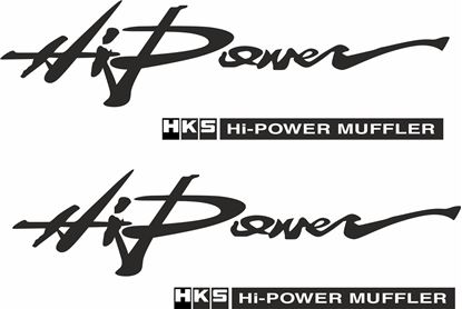 "Picture of ""Hi Power HKS..."" JDM Decals / Stickers"
