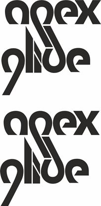 Picture of Apex Glide Decals / Stickers