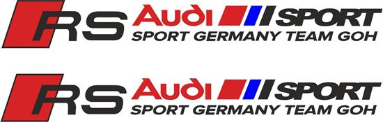 "Picture of ""Audi Sport Team GOH"" Decals / Stickers"