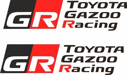 Picture of Toyota Gazoo Racing Decals / Stickers