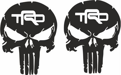 Picture of Toyota TRD Punisher Decals / Stickers
