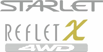 Picture of Toyota Starlet Reflet X 4WD replacement hatch / tailgate Decal / Sticker