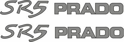 Picture of Toyota Prado SR5 replacement Decals / Stickers