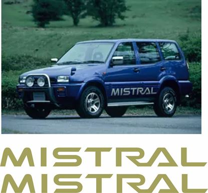 Picture of Nissan Mistral lower side  Stickers / Decals