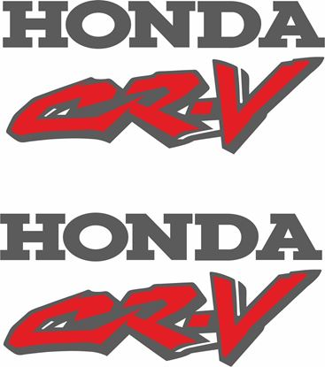 Picture of Honda CR-V 1995 - 2001  replacement Decals  / Stickers
