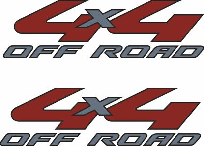 Picture of Ford Ranger 2008 - 2010 Replacement  4x4 Decals / Stickers