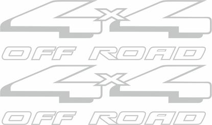 "Picture of Ford Ranger replacement ""4x4 Off Road"" side bed Decals / Stickers"