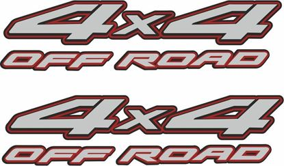 "Picture of Nissan Navara / Frontier  ""4x4 off road"" replacement  side Decals / Stickers"