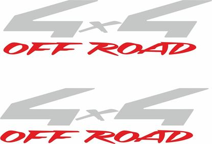 "Picture of Nissan  Frontier  1990 - 1997 ""4x4 off road"" replacement side Decals / Stickers"