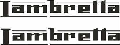 Picture of Lambretta General Panel Stickers