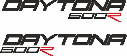 Picture of Triumph Daytona 600R  Decals / Stickers