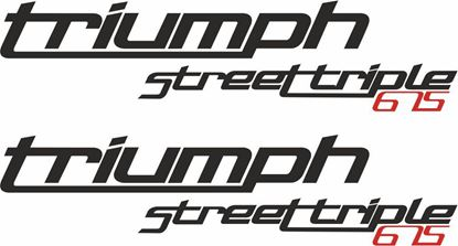 Picture of Triumph Street Triple 675  Decals / Stickers