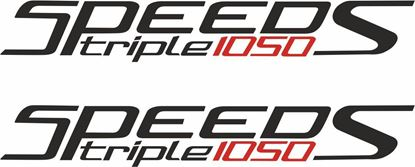 Picture of Triumph Speed Triple 1050 S  Decals / Stickers