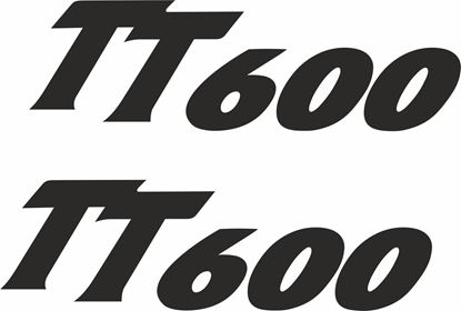 Picture of Triumph TT 600  Decals / Stickers
