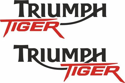 Picture of Triumph Tiger  Decals / Stickers