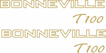 Picture of Triumph Bonneville T100 Decals / Stickers