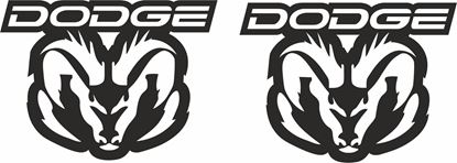 Picture of Dodge Ram Decals / Stickers