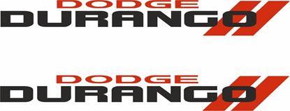 Picture of Dodge Durango Decals / Stickers
