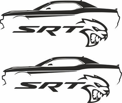 Picture of Dodge Challenger SRT  Decals / Stickers