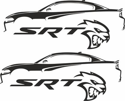Picture of Dodge Charger SRT  Decals / Stickers