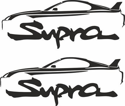Picture of Toyota Supra MK4 Decals / Stickers