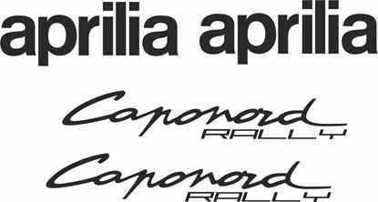 Picture of Aprilia Caponord Rally Decals / Stickers