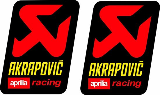 Picture of Aprilia Racing  Akrapovic Decals / Stickers