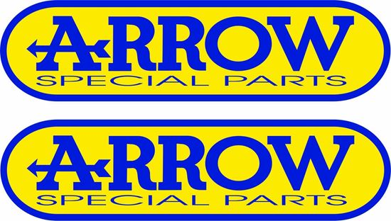 """Picture of """"Arrow Special Parts""""  Track and street race sponsor Decals / Stickers"""