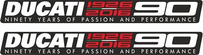 Picture of Ducati 90 Years  Decals / Stickers