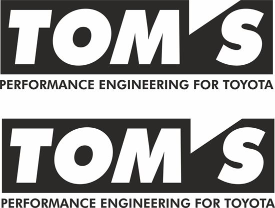 """Picture of """"Toms"""" Decals / Stickers"""
