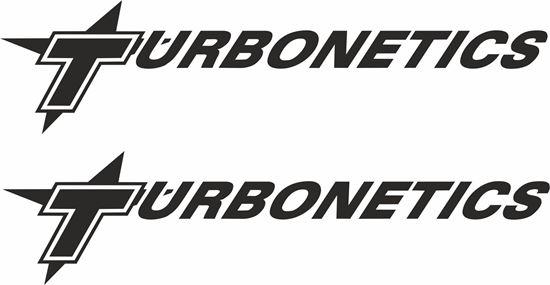 "Picture of ""Turbonetics"" Decals / Stickers"